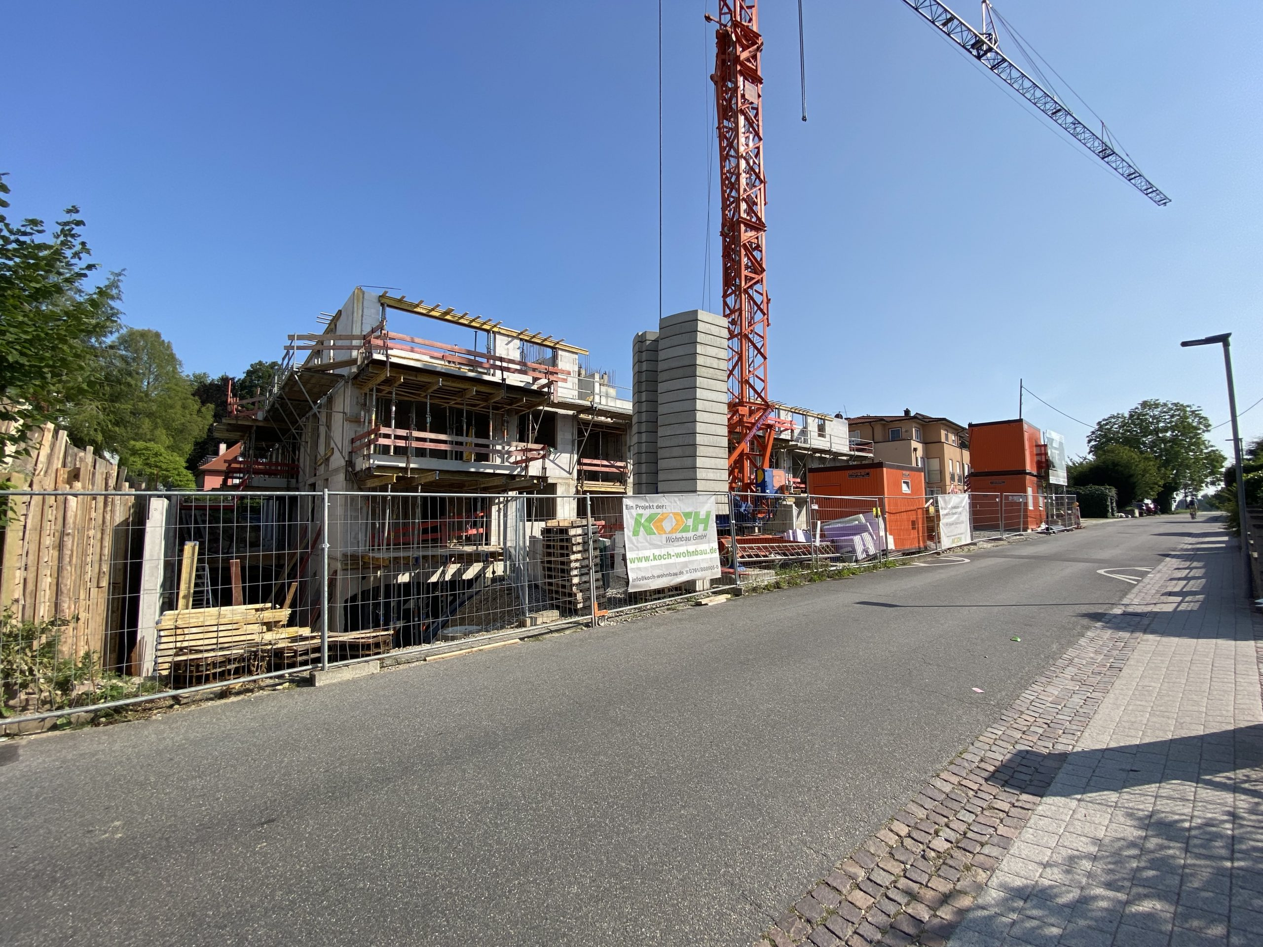 Baustelle Bad Krozingen 21.07.2021
