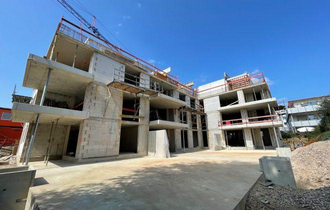 Baustelle Bad Krozingen 20.08.2021