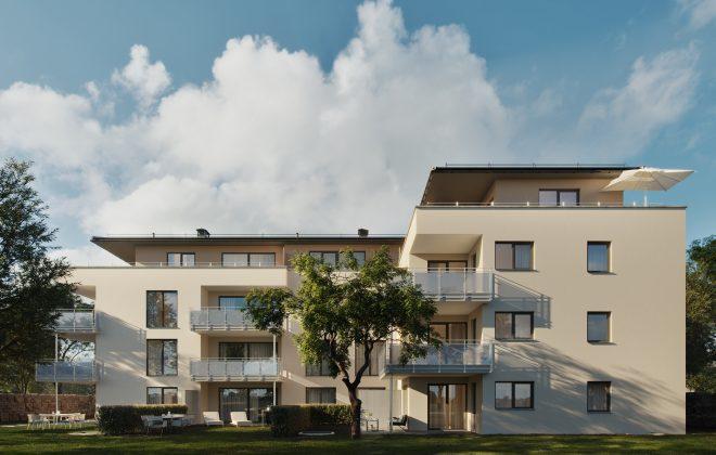 Wohnen Am Schlosspark, Koch Wohnbau Gmbh, Bauträger In Freiburg
