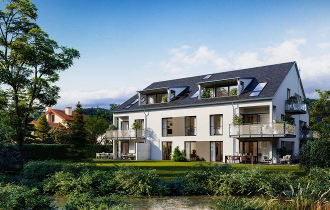 Wohnen Am Mühlbach, Koch Wohnbau Gmbh, Bauträger In Freiburg